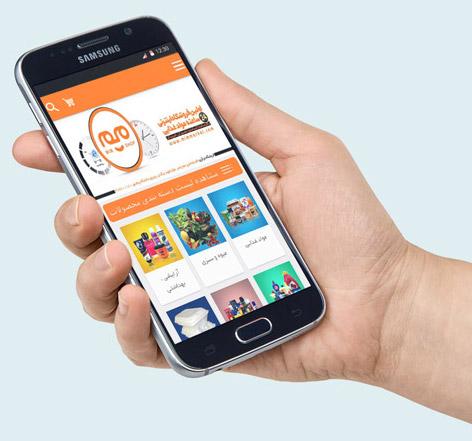 ساخت اپلیکیشن اندروید فروشگاه اینترنتی میم مارکت